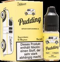 The Milkman Pudding liquid 3x 10ml