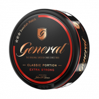 General Classic Portion Extra Strong Snus