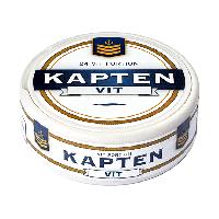 Kapten White Portion Snus
