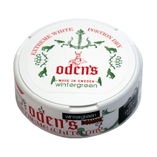 Odens Wintergreen Extreme White Portion Dry
