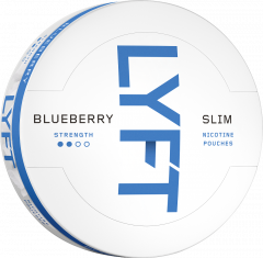 Lyft Blueberry Slim Portions Sixpack