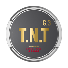 G. 3 T.N.T SLIM WHITE DRY SUPER STRONG