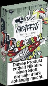 Graffiti Mix & Vape: Érable glacé à la nicotine, 3 mg