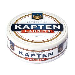 Kapten Lakrits White Portion Snus