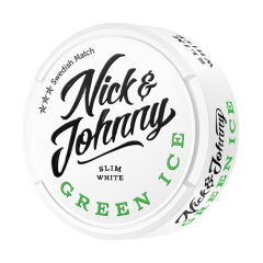 Nick & Johnny Green Ice Slim White