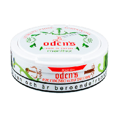 Odens Menthol Extreme White Dry Portion