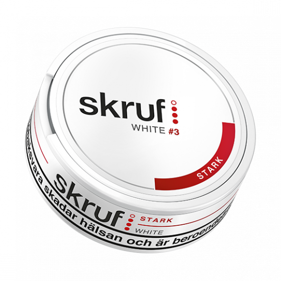 Skruf White Strong Snus