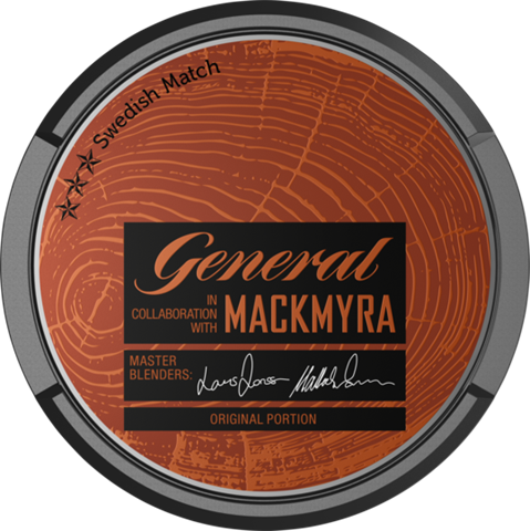 General Mackmyra Snus
